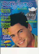 POPFOTO 92/07 (7/92) 2 UNLIMITED GEORGE MICHAEL CHRISTIAN SLATER RICHARD GRIECO