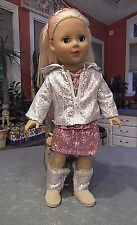 "MADAME ALEXANDER FAVORITE FRIENDS 18"" DOLL W/ CLOTHES & SHOES"