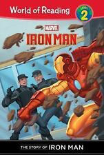 Iron Man: The Story of Iron Man (World of Reading: Level 2)-ExLibrary