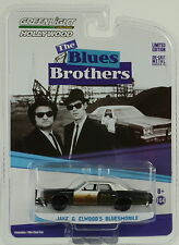 Movie Blues Brothers Jake & Elwoods Bluesmobile 1:64 Greenlight