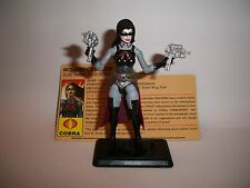 GI Joe Resolute Baroness loose complete from Battle Set 7-pack 2010 Cobra