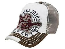 NEW TRUE RELIGION VINTAGE UNISEX DISTRESSED BUDDHA TRUCKER HAT CAP SEAL TR1101