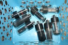 6W6  VINTAGE GLASS TUBES - VARIOUS BRANDS - RCA/SYLVANIA, ETC.  ALL TESTED