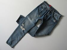 NWT Levi's 501 CT in Haggleston Destroyed Custom Tapered Fit Jeans 36 x 32
