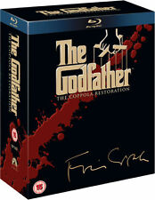 The Godfather Trilogy 1+2+3 Complete Collection Blu-ray Boxset Boxed Set New