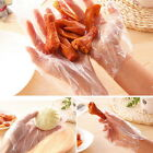 100pcs Plastic Disposable Gloves Restaurant Home Service Catering Hygiene UF