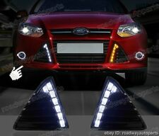LED Car Daytime Running Light DRL For Ford Focus 2012-2014