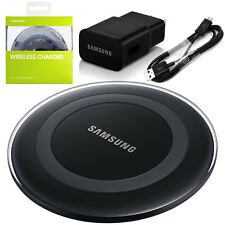 New Qi Wireless Charging Pad For Samsung Galaxy S6 S7 Edge Note 5 + Wall Charger