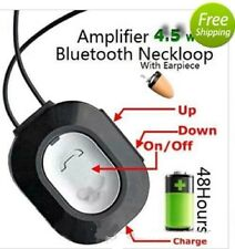 USA Bluetooth Earpiece Neckloop Loopset Spy Hidden Invisible Covert Exam Cheat