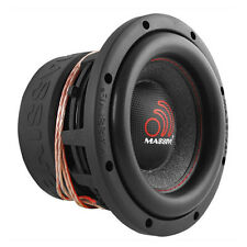 "NEW! Massive Audio HIPPO 84 8"" Dual 4 Ohm High Power Car Audio Subwoofer 1000W"