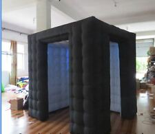 Custom made inflatable 8.2 ft  prom LED light black oxford cloth photo booth