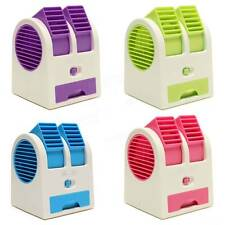 Mini Small rechargeble battery Fan Cooling Portable Desktop Air Conditioner USB