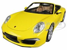 2012 PORSCHE 911 CARRERA S CABRIO (991) YELLOW 1/18 LTD ED MINICHAMPS 100061031