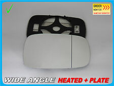 Wing Mirror Glass Renault Laguna II 2001-2008  Wide Angle HEAT Right Side #H015