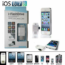i-FlashDrive USB Micro SD TF Card Reader Flash Drive For iPhone 6 6S 6 Plus 5 5S