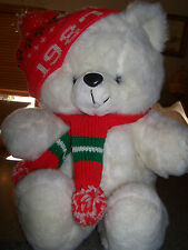 Emporium Capwell 1987 Jingle Bear excellent condition HARD TO FIND