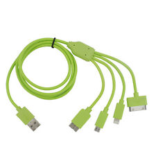 4 in 1 cavo colorato per Micro USB / Micro USB3.0 / fulmini / 30 pin Connettore