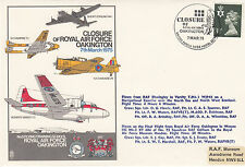 error added Red RAF Museum backstamp C37a Closure of RAF Oakington.