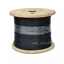 3-4mm 7x7 Black PVC Coated 304 Stainless Steel Cable
