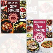 More Slow Cooking Recipies Collection 2 Books Set Cook's Kitchen New Hardcover