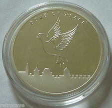 2015 Israel Holy Land Mint Dove of Peace 1 oz .999 Silver Bullion Round