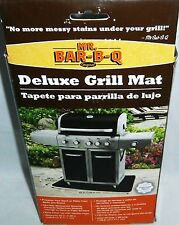 "MR BAR-B-Q Deluxe Grill Mat  42"" x 28"" #40122X  Non-Slip Waterproof Backing"