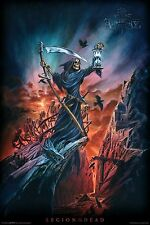 """Aquarious Alchemy - Legion of the Dead - Poster BRAND NEW 24""""X36"""""""