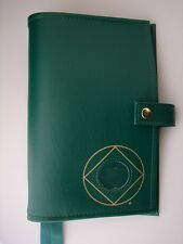 """Deluxe Narcotics Anonymous NA Basic Text """"How and Why"""" Green Cover Coin - 6th Ed"""