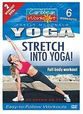 Caribbean Workout: Stretch Into Yoga! / Yoga for the Core New Exercise DVD