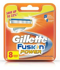 GENUINE, BRAND NEW GILLETTE FUSION POWER 8 BLADES REFILL CARTRIDGES