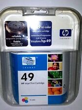 INK CARTRIDGE  HP 49 TRI-COLOR NEW SEALED