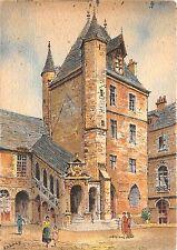 BR16730 Dijon La tour de Bar  france Painting postcard