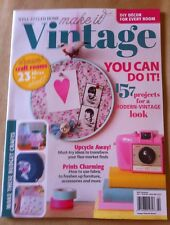 make it Vintage 2014 FREE SHIPPING DIY Projects Craft Room Ideas Charming Prints