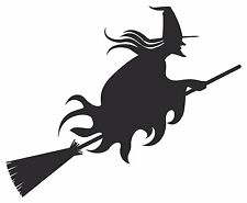 Witches Halloween Cauldron Magic Spells Broom Vinyl Decal Stickers sma SM7-7