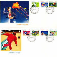 1989 Sports Series I FDC's - GPO Brisbane Qld 4000 PMK
