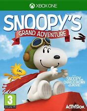 SNOOPY'S GRAND ADVENTURE - XBOX ONE - NEW - UK RELEASE