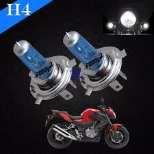 H4 Xenon Halogen Light Lamp Bulbs Bright White 5000K 100/90w Bike Motorcycle