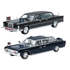 NEW (Set) 1961 John F Kennedy & 1972 Ronald Reagan Lincoln Continental Die Casts