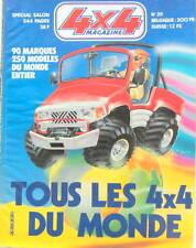 1983 TOUS LES 4X4 DU MONDE  MAGAZINE  TOUT TERRAIN MITSUBISHI LAND JEEP SINPAR