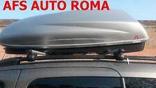 BARRE PORTATUTTO ALLUMINIO CITROEN BERLINGO ANNO 2013+BOX PORTAPACCHI KRONO 480