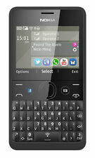 Brand New Boxed Nokia Asha 210  Black (Unlocked) Mobile Phone