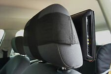 SAFE&EASY UNIVERSAL DVD IPAD TABLET CAR BACKSEAT HEADREST MOUNT STRAP HOLDALL x2