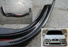 2X For BMW E39 M5 Only Added-on Carbon Fiber Front lip Spoiler + Rear Diffuser