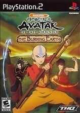 Avatar: The Last Airbender The Burning Earth **NEW** (Sony Playstation 2 PS2)