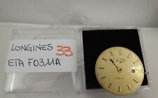 33 - Movimento LONGINES ETA F03.11A - not  working - sold for parts repairs