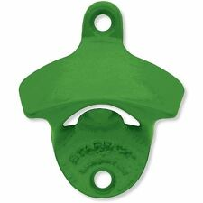 JOHN DEERE GREEN PLAIN Powder Coated Wall Mount Bottle Opener Zinc SHIPS  FREE