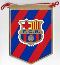 BARCELONA SPAIN FOOTBALL CLUB OFFICIAL SMALL PENNANT OLD