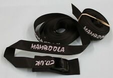 "2 x   5m cam buckle tie down luggage straps 5 metre  (16'3"") kayak / canoe"