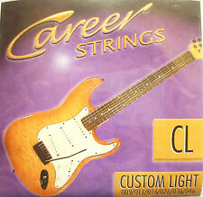 Career Strings E-Gitarren-Saiten Custom Light 009-046