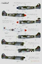 Xtradecal X72094 1/72 Hawker Tempest Mk.II and Mk.V Model Decals